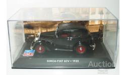 1/43 SIMCA-FIAT 6CV 1935 (IXO-Altaya), масштабная модель, scale43, Altaya, Museum Series (музейная серия)