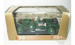 1/43 Bentley 4,5 Litre №4 'Old Mother Gun' LeMans 1928 (Brumm), масштабная модель, scale43