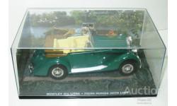 1/43 Bentley 4 1/4 litre (James Bond Collection), масштабная модель, scale43, The James Bond Car Collection (Автомобили Джеймса Бонда)