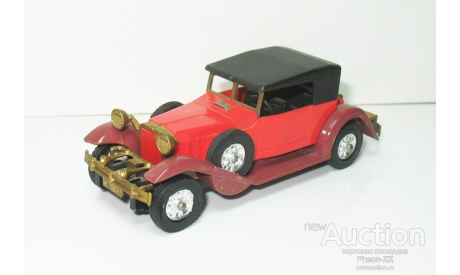1/43 Stutz 8 DV32 (с поднятым тентом) 1933 г. (ремейк СССР), масштабная модель, scale43
