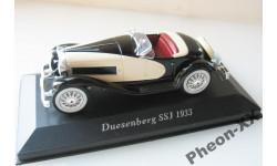 1/43 Duesenberg SSJ 1933 (IXO-Altaya), масштабная модель, scale43, Altaya, Museum Series (музейная серия)