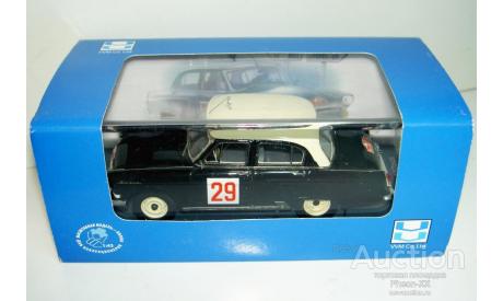 1/43 ГАЗ-21М Волга №29 Ралли Монте-Карло 1964 (NEO-VVM), масштабная модель, 1:43, VMM/VVM