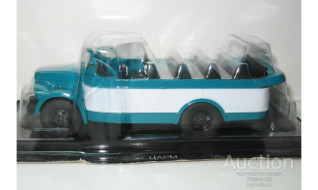 1/43 ГАЗ-51А курортный автобус ЦАРМ (Автомобиль на службе №68), масштабная модель, scale43, Автомобиль на службе, журнал от Deagostini