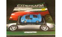 Bugatti EB 110, масштабная модель, Суперкары. Лучшие автомобили мира, журнал от DeAgostini, scale43