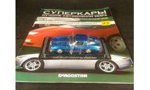 Chevrolet Corvette Stingray, масштабная модель, Суперкары. Лучшие автомобили мира, журнал от DeAgostini, scale43