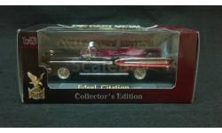Edsel Citation 1958 г. чёрный с красным