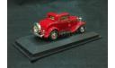 Ford 3-window Coupe 1932 г. красный, масштабная модель, 1:43, 1/43, Yat Ming