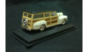 Ford Woody 1948 г. белый, масштабная модель, 1:43, 1/43, Yat Ming