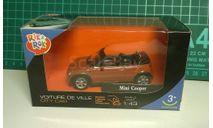 Mini Cooper cabriolet, масштабная модель, 1:43, 1/43, Bauer/Cararama/Hongwell