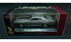 Plymouth GTX 1971 г. серебристый