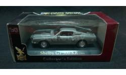 Shelby GT 500-KR 1968 г. серебристый