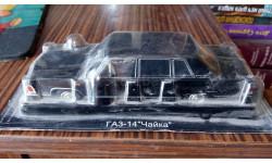 ГАЗ 14, масштабная модель, Автолегенды СССР журнал от DeAgostini, 1:43, 1/43
