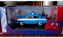 москвич 407  полиция венгрии ist 045, масштабная модель, IST Models, 1:43, 1/43
