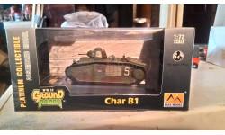 easy models (char b1), масштабные модели бронетехники, 1:72, 1/72