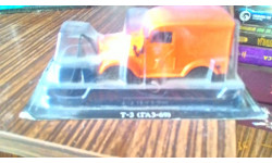 ГАЗ 69 Т-З, масштабная модель, 1:43, 1/43, Автолегенды СССР журнал от DeAgostini
