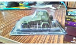 бронеавтомобиль, масштабная модель, 1:43, 1/43, Автолегенды СССР журнал от DeAgostini