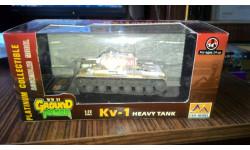 easy models  kv 1, масштабные модели бронетехники, 1:72, 1/72