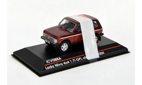 ICV088A LADA NIVA 4X4 1.7 GPL /metalic/, масштабная модель, 1:43, 1/43, ВАЗ