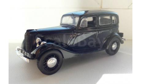 ГАЗ М1, масштабная модель, Автолегенды СССР журнал от DeAgostini, scale43