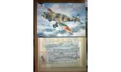 Самолет 1/72 Kawasaki Ki-32 'Mary', сборные модели авиации, 1:72, Amodel