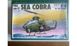 Вертолет 1/72 Italeri 168 AH-1T Sea Cobra, сборные модели авиации, 1:72