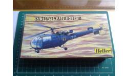 Вертолет 1/72 Heller SA 316/319 Alouette iii