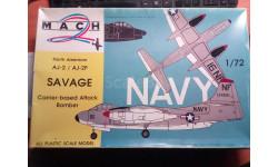 Самолет 1/72 North American AJ-2 / AJ-2P SAVAGE, сборные модели авиации, 1:72, Звезда