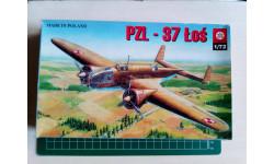 Самолет 1/72 Бомбардировщик PZL-37A/B LOS
