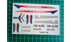 Декаль 1/100 для L-410 от Plasticart, фототравление, декали, краски, материалы, 1:100, Plasticart ГДР