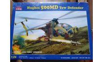 Вертолет Hughes 500MD 1/24 (Kitech 08M-3007), сборные модели авиации, scale24