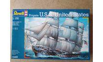 Парусный фрегат U.S.S United States 1:150 (Revell 0406), сборные модели кораблей, флота, scale0