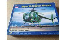 Вертолет Hughes OH-6A Cayuse Helicopter 1/32 (Kitech), сборные модели авиации, scale32