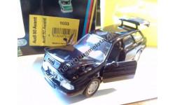 759 Schabak Audi 80  1:43 b4 Avant black, масштабная модель, 1/43