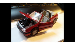 1038 1:43 schabak volkswagen golf III 3 cabrio vw, масштабная модель, scale43