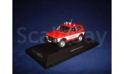1/43 Ваз 2121 Нива,Пожарная,Cars&Co, масштабная модель, IST Models, scale43