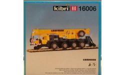Мобильный кран Liebherr KIBRI 1606-1:87(НО), железнодорожная модель, 1/87