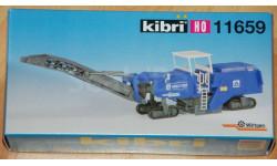 Машина для удаления асфальта KIBRI 11659-1:87(НО), железнодорожная модель, WIRTGEN, scale87