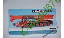 Автокран Liebherr KIBRI 13026-1:87(НО), сборная модель автомобиля, 1/87