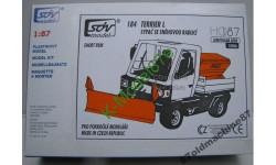 Коммунальная машинаTerrier L 4x4 -1:87(HO), сборная модель автомобиля, SDV, 1/87