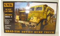 КрАЗ 256 самосвал набор для самостоятельной сборки - 1:87(H0), сборная модель автомобиля, SMK, 1/87