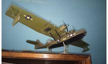 PBY-5A Catalina 1/72 custom built model, сборные модели авиации, Academy, scale72