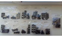 Набор колесных дисков и шин, запчасти для масштабных моделей, AVD Models, scale43