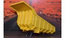КУЗОВ : БелАЗ 540 самосвал с двумя телескопическими подъемниками НАП, запчасти для масштабных моделей, Наш Автопром, 1:43, 1/43