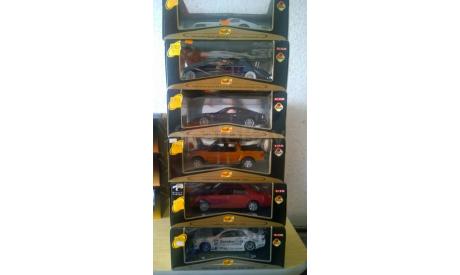 Остатки коллекции металлических копий автомоделей в масштабе 1:18, масштабная модель
