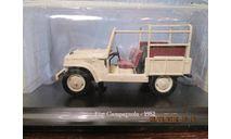 FIAT 1101 Campagnola 1952 (Norev-Hachette) 1/43, масштабная модель, 1:43