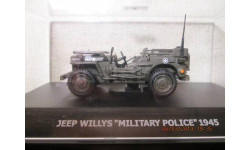 WILLYS JEEP MILITARY POLICE 1945 1/43 WEMI BOXED, масштабная модель, 1:43