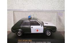 Seat ritmo 75cl agrupacion de trafico-guardia civil 1975, масштабная модель, Altaya, 1:43, 1/43