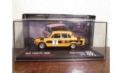 Seat-1430 FU 1800 №7, Antonio Zanini / Juan Petisco Rallye Firestone 1976, масштабная модель, Altaya Rally, scale43