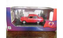 ЗАЗ-968А красный, масштабная модель, IST Models, scale43