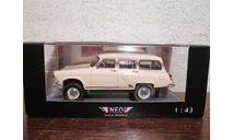 ГАЗ М22 4Х4 1966г., масштабная модель, NEO, scale43